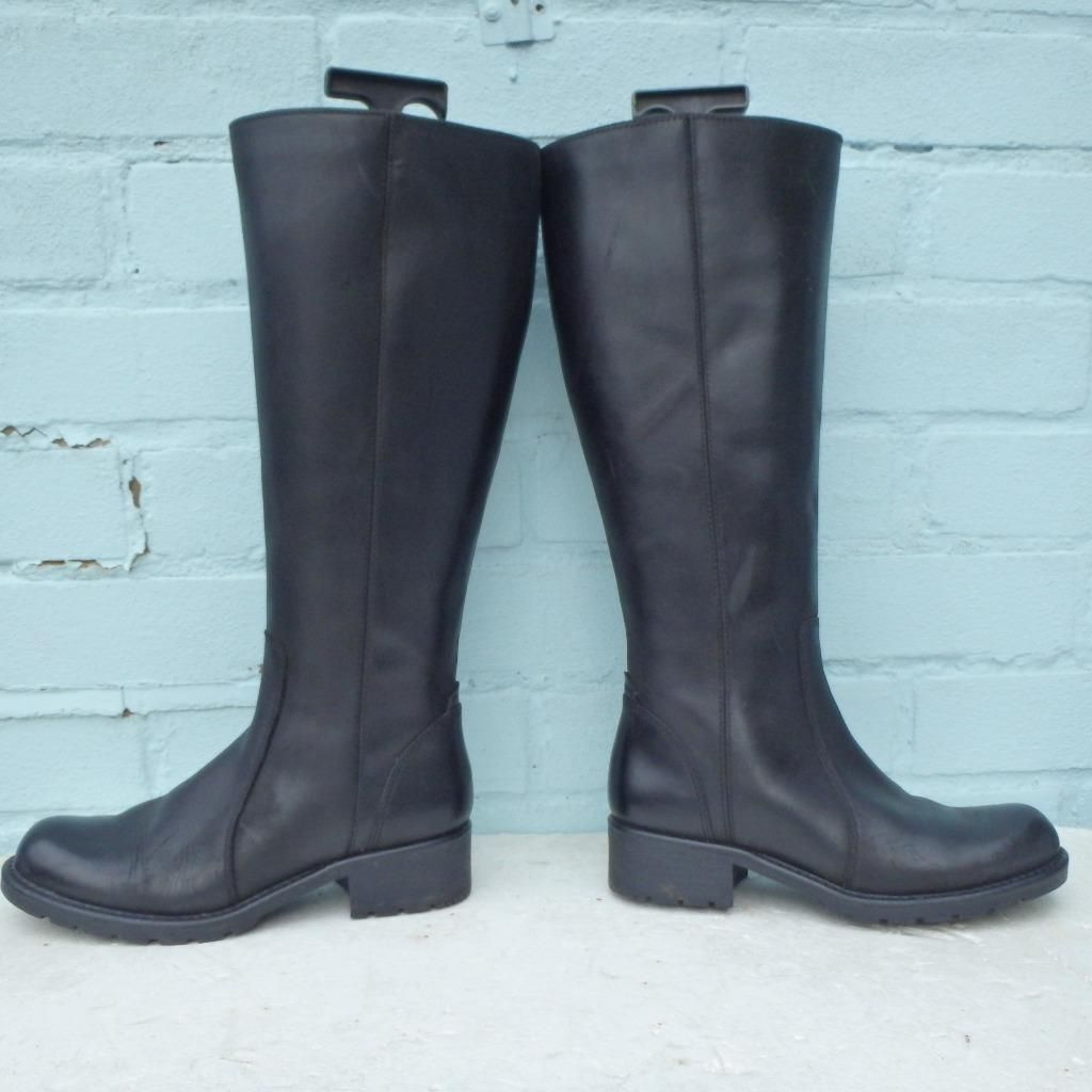 Clarks Leather Boots Size Uk 3 Eur 36